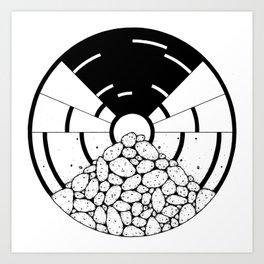 circle_ Art Print