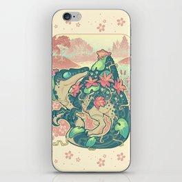 Aquatic buddies iPhone Skin