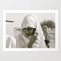 arab Art Prints featuring Arab Woman by Dave Christiansen - Photographer/Artist