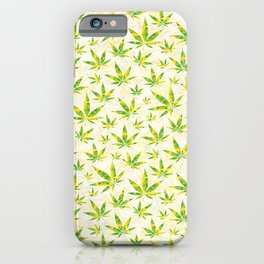 Weed OG Kush Pattern iPhone Case