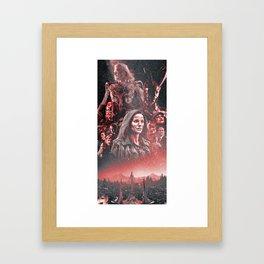 Thor (2011) Alternative Movie Poster Framed Art Print