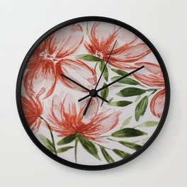 Rosie Night Wall Clock