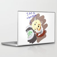 hamster Laptop & iPad Skins featuring Hamster by wingnang
