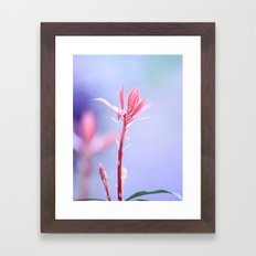 Sunkissed Spring Beauty Framed Art Print