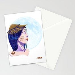 La Lune aux Trois Ombres Stationery Cards