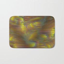 Glitch_art: Tropics_003 Bath Mat