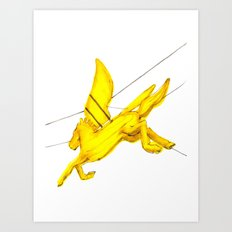 Pegasus - Chinatown Art Print