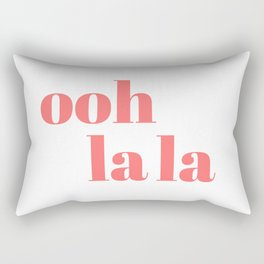 ooh la la V Rectangular Pillow