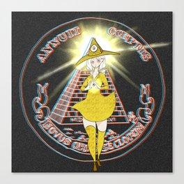 Illuminati - The Illuminati Witch Canvas Print