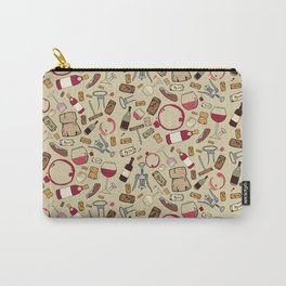 A good time for wine Carry-All Pouch