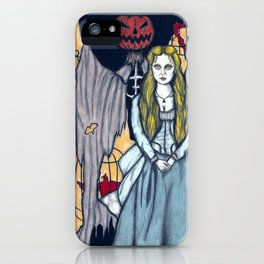 Katrina Van Tassel iPhone Case
