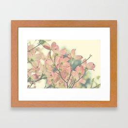 Vintage Dogwoods Framed Art Print