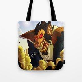 super vegeta Tote Bag