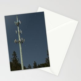 Transmissions in the dead of the night Stationery Cards