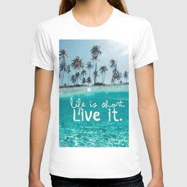 live it T-shirt