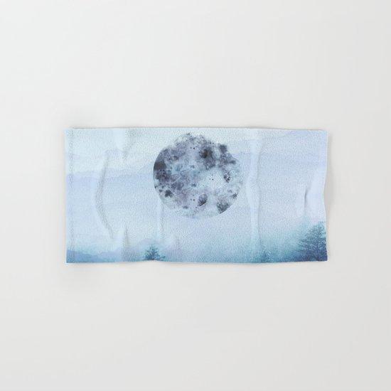 Watercolor Moon Hand & Bath Towel