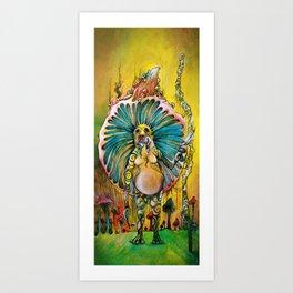 Mr. Furp Art Print