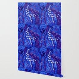Hawaiian Swirl Wallpaper
