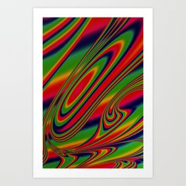 Candy Drop Art Print