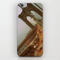 brooklyn bridge iPhone & iPod Skins featuring Brooklyn Bridge  by S|Tarah