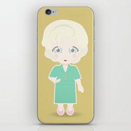 Girls in their Golden Years - Rose iPhone Skin