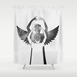 A dreamer. Shower Curtain
