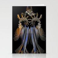 transformer Stationery Cards featuring Transformer by Brian Raggatt