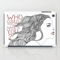 ruby iPad Cases featuring Ruby by blonda