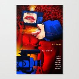 DAVID CRONENBERG SERIES :: VIDEODROME Canvas Print