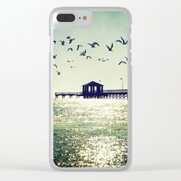 Glistening Clear iPhone Case