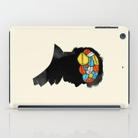conan iPad Cases featuring Sherlock Phrenology by Wharton
