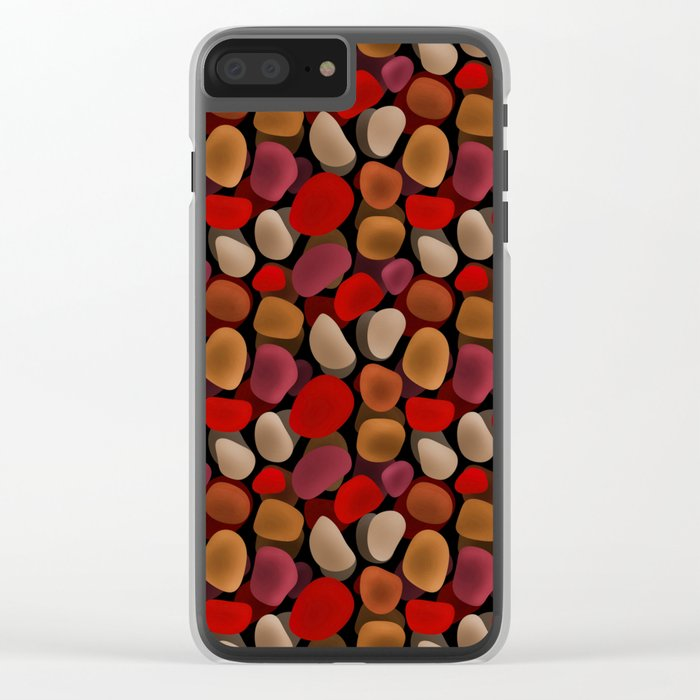 Abstract pattern . Sea stones .2 . Clear iPhone Case