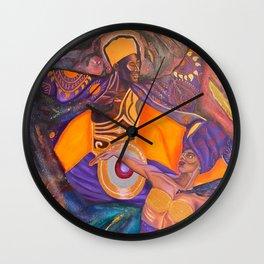 Ife Ti Emi: Spiritual Passion Wall Clock