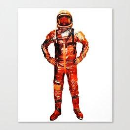 Astronaut James Canvas Print