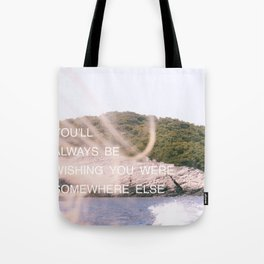 VERONIKA QUOTE - FONT PIECE Tote Bag