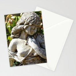 Garden Goddess Statue Stationery Cards