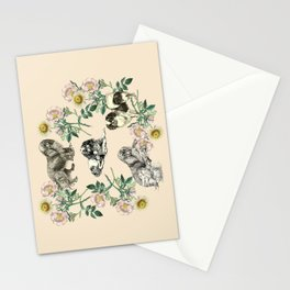 DOG ROSE  Stationery Cards