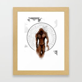 Silent hill Walker Framed Art Print