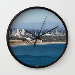 Point Loma Skyline Wall Clock
