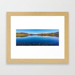 Lake Clearwater Framed Art Print