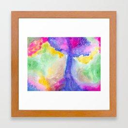 Bright Forest Framed Art Print