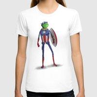 kermit T-shirts featuring Captain Kermit by Matthew Bartlett