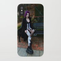android iPhone & iPod Cases featuring Android by Toxic Tears