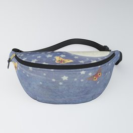 moonlit foxes Fanny Pack
