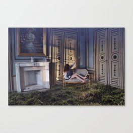 We Have Always Lived In The Castle Canvas Print