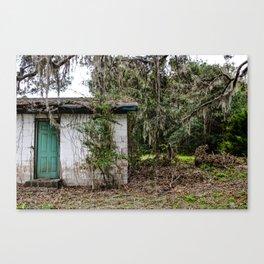 Abandoned Shack Canvas Print