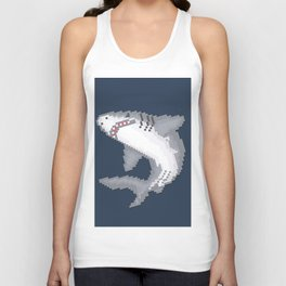 Shark Byte Unisex Tank Top
