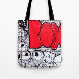 Ali red box Tote Bag