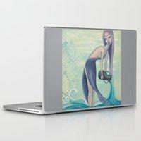 aquarius Laptop & iPad Skins featuring Aquarius by Artist Andrea