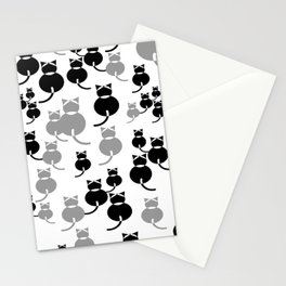 Fat Cats 1 Stationery Cards